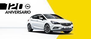 Opel Astra 120 aniversario
