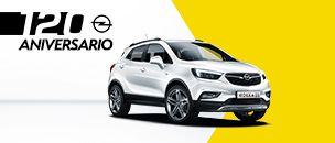 Opel Mokka X 120 aniversario