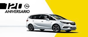 Opel Zafira 120 aniversario