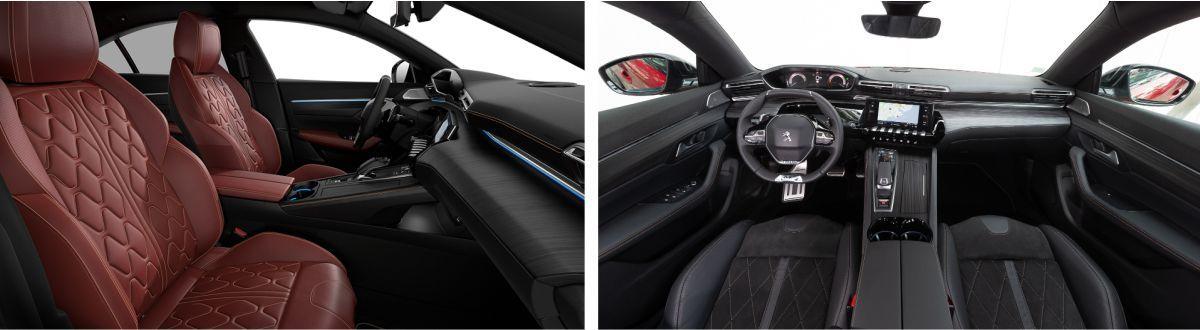 Nuevo Peugeot 508 asientos delanteros