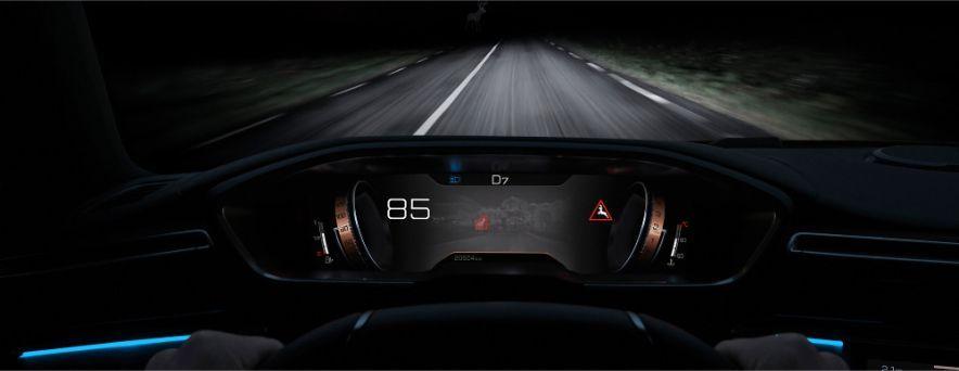 Nuevo Peugeot 508 faros visión nocturna