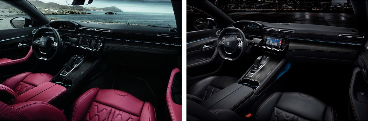 Nuevo Peugeot 508 interior refinado