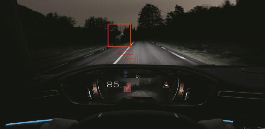 Nuevo Peugeot 508 sistema visión nocturna