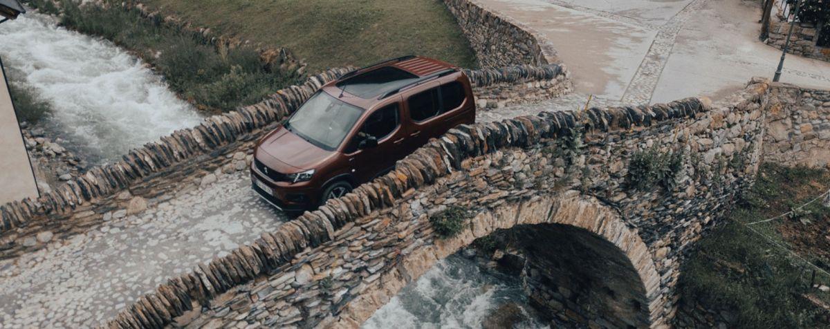 Peugeot Rifter polivalente para ciudad y campo