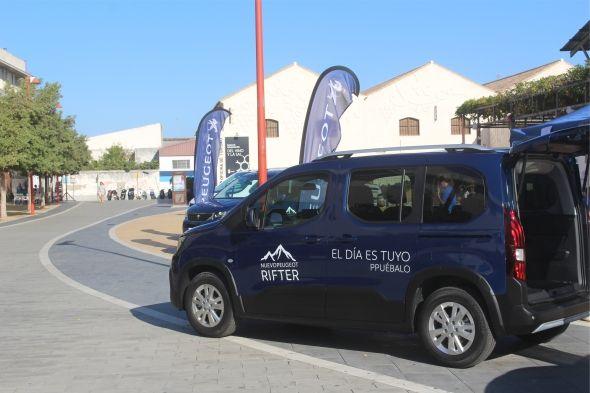 Peugeot Rifter en evento Chiclana