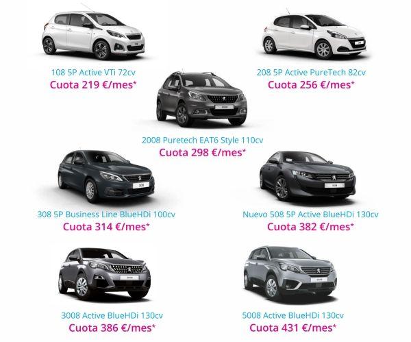 Ofertas Vehiculos Turismo Free To Move Peugeot