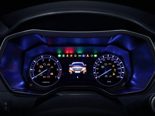 Panel Instrumentos sobre el volante
