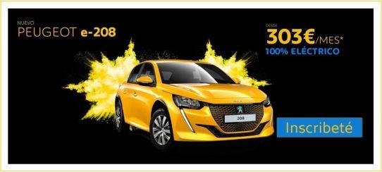 Solicita información sobre el Nuevo Peugeot 208